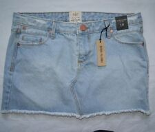 River Island Denim Extra short, Micro-mini Skirts for Women