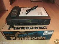 Panasonic NV-HD630 VHS-Videorecorder in OVP, inkl. BDA & FB, 2J. Garantie