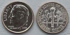 USA Dime 10 Cents 2010 D unz.
