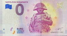 BILLET 0  EURO NAPOLEON BONAPARTE PARIS FRANCE  2019  NUMERO 31100