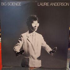 *SALE* *SIGNED* LAURIE ANDERSON - BIG SCIENCE LP VINYL - RARE!
