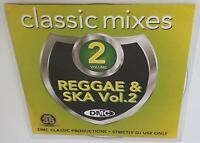 DMC CLASSIC MIXES I LOVE REGGAE & SKA VOL 2 DJ REMIX SERVICE MEGAMIX CD