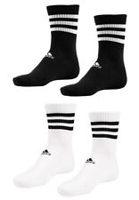 Adidas 3-stripes Crew 3er Pack lange Socken sportsocken