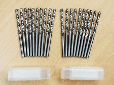 "Lot of (20) 5/32"" M2 HSS Drill Bits Full Grounded"