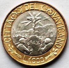 Vatican 1000 lire 1990 John Paul II  km311 (#3764)