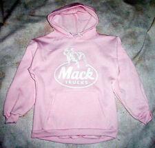 new MACK Trucks Logo  paccar peterbilt kenworth PINK hoodie sweatshhirt Xlarge