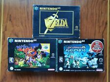 The Legend of Zelda: Ocarina Of Time, Banzo Kazooie, Jet force Gemini Rare