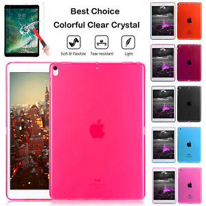 """Shockproof Crystal Soft Silicone Case Cover For Apple iPad Pro 10.5"""" & 9.7"""" Inch"""