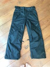 Ride Snowboards Snowboarding Pants Black/Gray Size Small