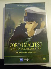 DVD - CORTO MALTESE - RAI TRADE - SOTTO LA BANDIERA DELL'ORO -  L-10