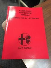 Car service repair manuals gtv ebay alfa romeo 105 115 series gtv spider workshop manual repair service instruction sciox Images