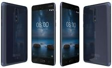 """NOKIA 8 Polished Blue 4gb 64gb OctaCore 13mp Fingerprint 5.3"""" Android Smartphone"""