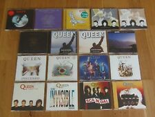 QUEEN CD SINGLES COLLECTION/JOB LOT x 17 (SCANDAL, MIRACLE, HEADLONG ETC) EX+