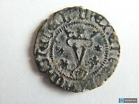 Moneda Reyes Católicos Blanca 1474-1516 - Ceca Sevilla (sFs *y* )