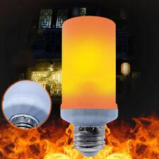 LED Burning Light Flicker Flame Lamp Bulb Size L