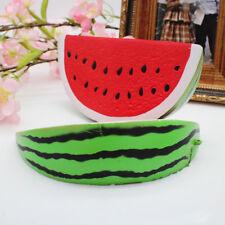 AM_ EG_ Kawaii Jumbo Slow Rising Fruit Watermelon Scented Bread Squeeze