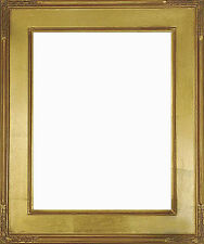12 x 16  Plein Air Frame Hand Applied Gold Leaf  Beautiful Style Top Quality