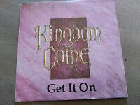 SINGLE KINGDOM COME - GET IT ON - POLYDOR SPAIN 1988 VG+
