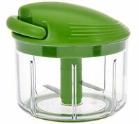 Kuhn Rikon 2.4 Cup Pull Chop Easy Food Chopper Food Processor, Green