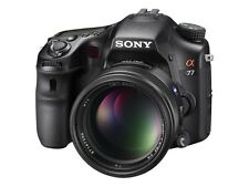 Sony Alpha SLT-A77 24.3MP Digital SLR Camera - Black (Kit w/ OSS 16-50mm lens)