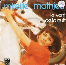 """MIREILLE MATHIEU le vent de la nuitmon homme 6009 715 french 7"""" PS VG/VG"""