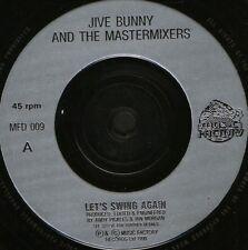 "JIVE BUNNY let's swing again 7"" WS EX/ uk MFD 009"