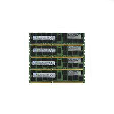 64GB (4x16GB) 2Rx4 PC3-12800R Samsung HP P/N: 672612-081