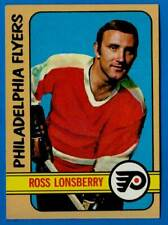1972-73 Topps ROSS LONSBERRY (ex+) Pittsburgh Penguins