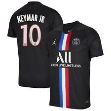 Jordan PSG Paris SG  2019 - 2020 Neymar Jr # 10 Fourth Soccer Jersey Black New
