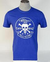 Affliction Live Fast LA//NYC Blue Vintage Short Sleeve Tee T Shirt Mens NWT