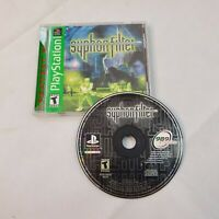 Syphon Filter Sony PlayStation 1 PS1 CIB Black Label Used Tested Working