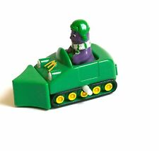 Figurine Jouet Mc Donalds Happy Meal 1995 Grimace Bulldozer