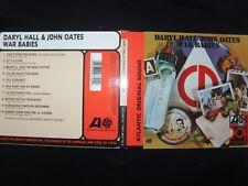CD DARYL HALL / JOHN OATES / WAR BABIES /