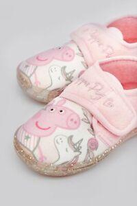 Toddlers Cute Peppa Pig Unicorn Slippers
