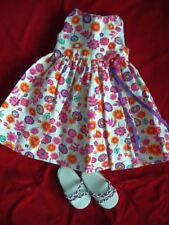 TONNER EFFANBEE  DOLL OUTFIT - DRESS AND SHOES