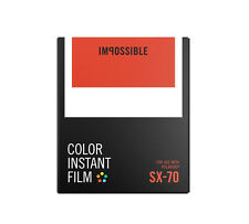 Impossible Sofortbildfilm PX70 Color für Polaroid SX70  SX-70  .
