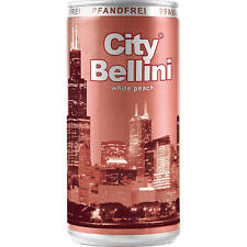 60 Dosen City Bellini 5,5% aromatisierter Cocktail Vol. 60 x 200ml Sektempfang