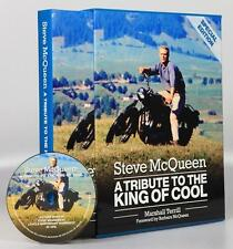 Steve McQueen - Tribute to the King of Cool - Special Edition - Buch book inc CD