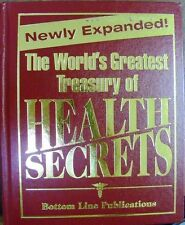 World's Greatest Treasury of Health Secerts by Bottom Line Books 2008 Hardcover