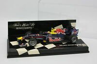 Minichamps 1/43 - F1 Red Bull Racing Renault RB6 Webber 2010