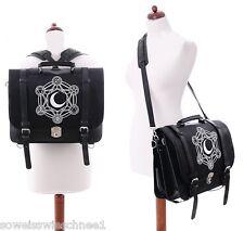 Restyle Rucksack Tasche Mond Magie Gothic Kunst-Leder Steampunk Sailor Bag Moon