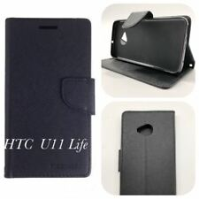 Mooncase Stand Wallet Case TPU in Cover for HTC U11 Black SP