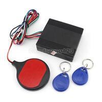 RFID Alarm Push Button Start Transponder Immobilizer Keyless Entry Engine Car
