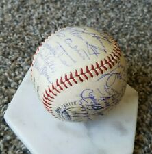 Pete Rose 1965 Cincinnati Reds Signed MLB Baseball 31x Inscriptions