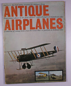 Antique Airplanes (Collector's Edition)unk date cover photo Curt Gunther   M175
