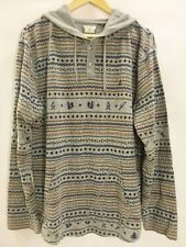 Volcom cotton Blend pullover henley Ole Hoodie winter nordic sweater NWOT XL new