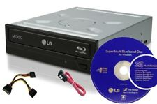 16x Blu Ray/DVD/CD Burner Writer Drive 3D play back+Software+cables+BD-R  media