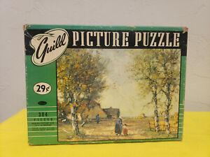 """Vintage Guild picture puzzle """" Holland Autumn """"  series 103  # 4425"""