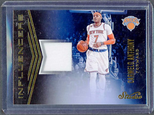 2016-17 Panini Studio Influencers Game Worn Materials Jersey #9 Carmelo Anthony