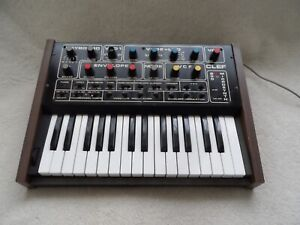 Rare CLEF B30 vintage British analog synthesiser 80s synth keyboard (UNTESTED)